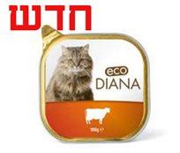 12 דיאנה מעדן פטה 100 גרם לחתול Eco Diana