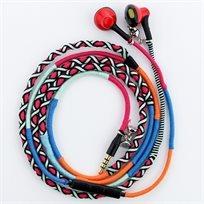 Urizons אוזניות צמיד הטרנד החדש ממליבו חזקות במיוחד עבודת יד בעיצוב יחודי ובצבעים מעורבים
