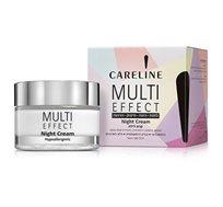קרם לילה Careline - MULTI EFFECT SPF 25 - משלוח חינם