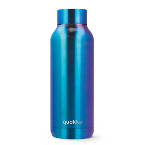 בקבוק תרמי Quokka Solid Blue Chrome 510 Ml