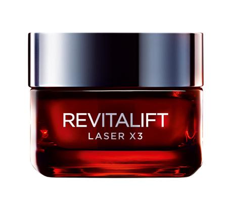 קרם יום לפנים Revitalift laser לוריאל פריז