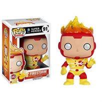 Funko Pop - Firestorm (Dc Super Heroes)  91 בובת פופ