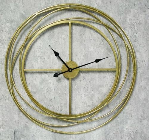 שעון מעוצב חישוקים ברונזה קוטר 75