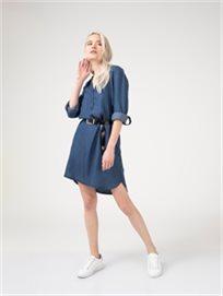 שמלת גינס כפתורים