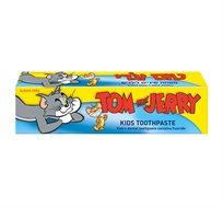 10 יחידות משחת שיניים לילדים בטעם מסטיק תכולה 60 גרם Tom & Jerry - משלוח חינם