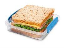 """אחסונית לסנדוויץ 450 מ""""ל מסדרת תיקי האוכל TO GO של חברת Sistema במבחר צבעים"""