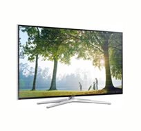 """סדרת H החדשה עם מעבד חזק במיוחד! טלוויזיה """"SAMSUNG LED 50 תלת מימד SMART TV בעברית, עם שלט חכם"""