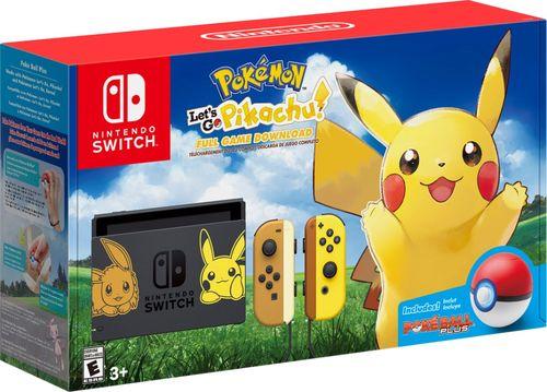 Nintendo Switch Let's Go Pikachu Edition נינטנדו סוויץ'