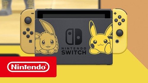 Nintendo Switch Let's Go Pikachu Edition נינטנדו סוויץ' - משלוח חינם - תמונה 2