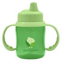 כוס שתייה לתינוק - ירוק