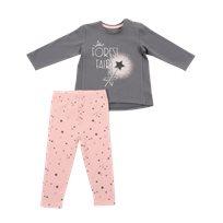 Minene חליפה(24-6 חודשים) -אפור כוכב
