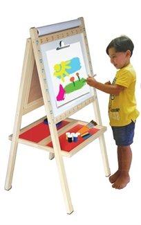 לוח ציור ולימוד רב שימושי 4 ב 1 ראשון שלי