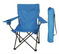זוג כיסאות מתקפלים עם ידיות לקמפינג ולים CAMPTOWN