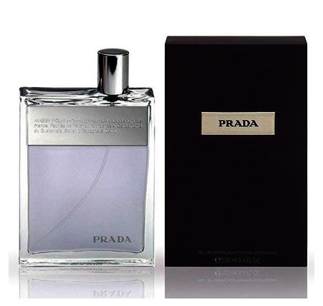 """בושם לגברים Prada Pour Homme א.ד.ט 100 מ""""ל"""