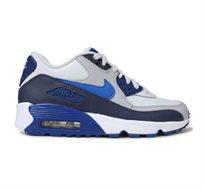 נעלי אופנה לנשים ולנערות דגם 833412-407 בצבע כחול ולבן