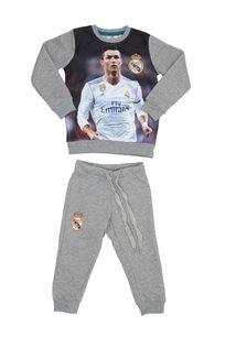 Real Madrid ילדים// סט פוטר ריאל אפור