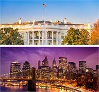 8 ימי טיול מאורגן לניו יורק, וושינגטון ושופינג החל מכ-$1565*