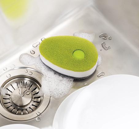 ספוג לשטיפת כלים Soapy Sponge עם קפסולה לסבון JOSEPH JOSEPH - תמונה 2