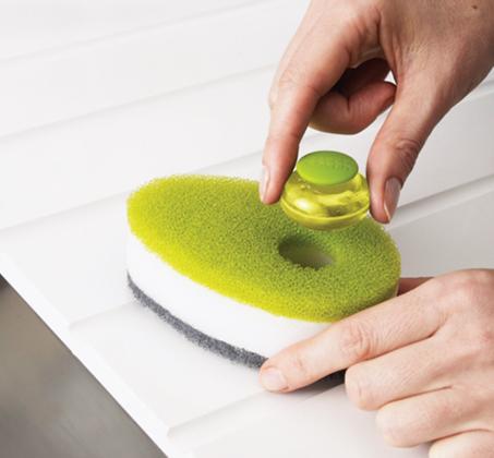ספוג לשטיפת כלים Soapy Sponge עם קפסולה לסבון JOSEPH JOSEPH - תמונה 3