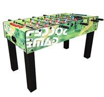שולחן כדורגל ביתי GREEN SOCCER עשוי MDF, מאסיבי עם ציפוי דקורטיבי