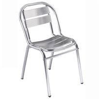 כסא לבית קפה מאלומיניום דגם מדלן