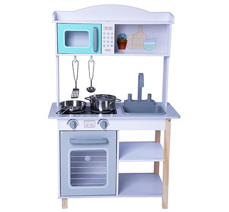 מטבח עץ לילדים מאובזר דגם BALI