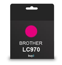 ראש דיו תואם BROTHER LC970 אדום