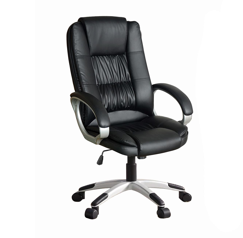 כסא משרדי מרופד עם מנגנון הגבהה דגם DENVER