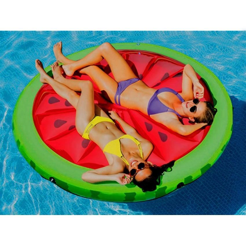 מזרן מתנפח בצורת אבטיח שלם לבריכה ולים דגם 56283 תוצרת INTEX - תמונה 2