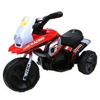אופנוע רייסינג ממונע 6V אדום