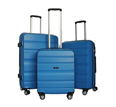 סט 3 מזוודות קשיחות | 28 | 24 | 20 אינטש Klub Swiss -  צבע לבחירה