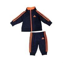 Adidas חליפה (3 חודשים - 7 שנים) - כחול כתום