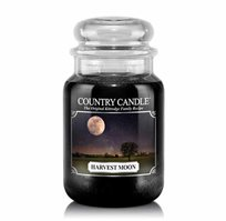 "נר ריחני בצנצנת בניחוח Harvest Moon תוצרת ארה""ב COUNTRY CANDLE"
