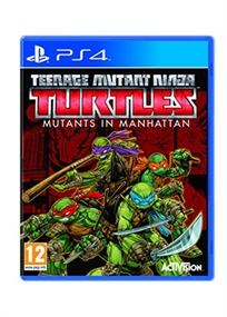 Teenage Mutant Ninja Turtles: Mutants In Manhattan Ps4 אירופאי!