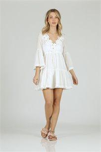 שמלה פרח צדף - CUBiCA