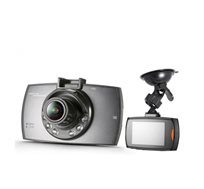 """מצלמת דרך לרכב עם צג LCD גדול ומואר """"2.4 כולל לדים IR בחזית המצלמה לצילום בתנאי חושך  - משלוח חינם"""