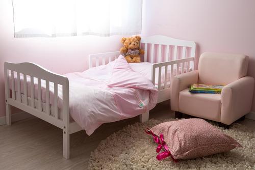 מיטת מעבר מעוצבת ומחוזקת 6 רגליים מאי - לבן - תמונה 2