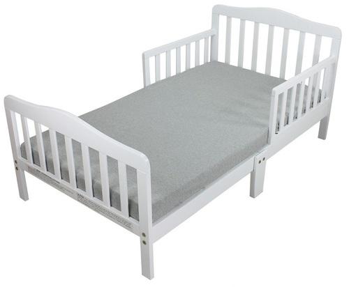מיטת מעבר מעוצבת ומחוזקת 6 רגליים מאי - לבן