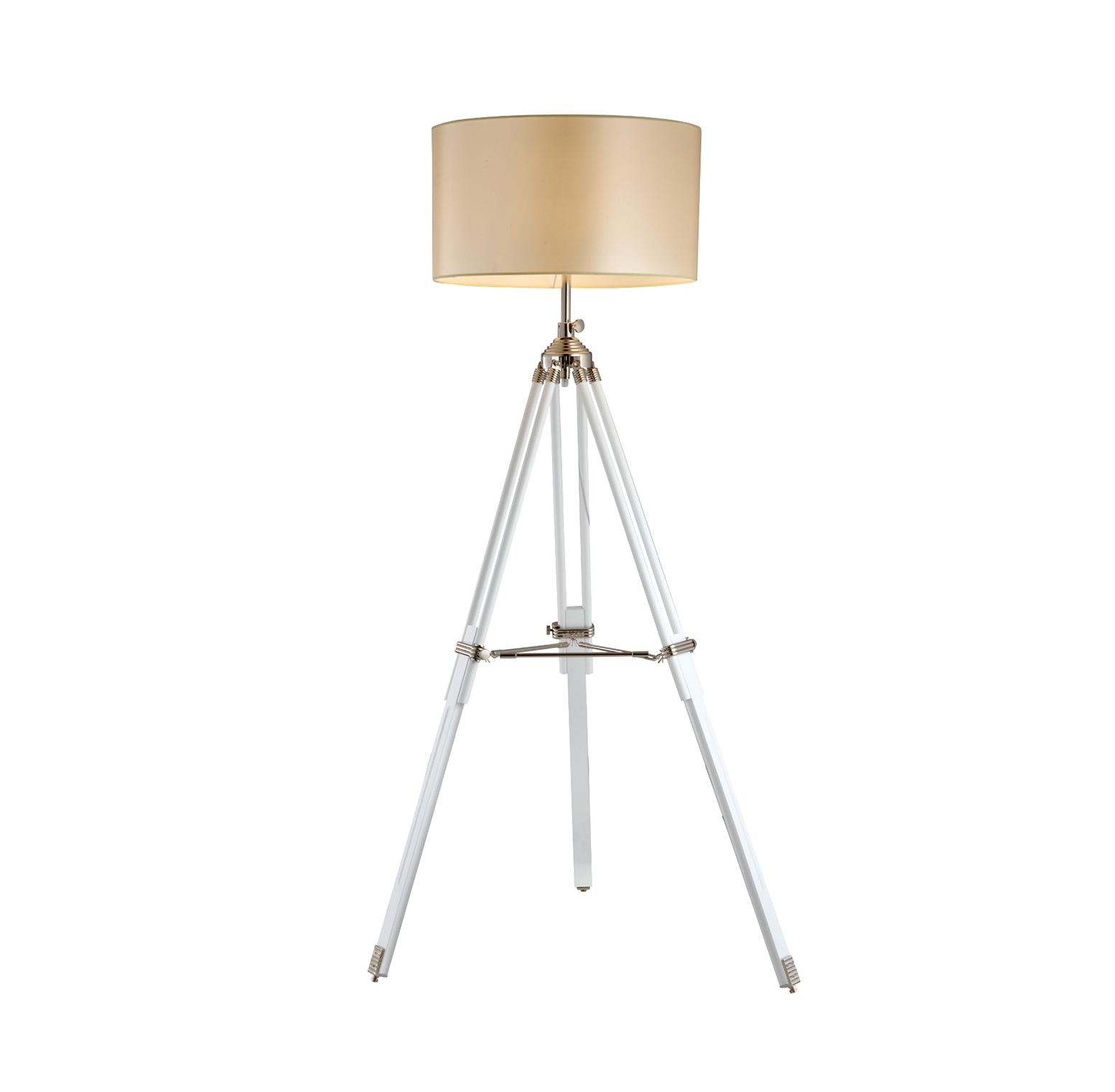 מנורת חצובה אהיל X-light בעלת חצובה מעץ מלא