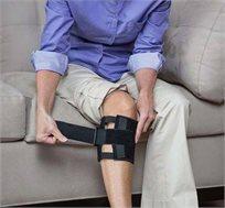 חגורת Beactive להקלת כאבי גב תחתון באמצעות הפעלת לחץ באזור נקודתי מאחורי הברך