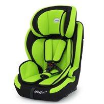 כסא בטיחות משולב בוסטר ארלינגטון עם חיבור איזופיקס - שחור/ירוק