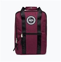 תיק גב הייפ - Backpack Box Ss18bag-086 Burgund Hype