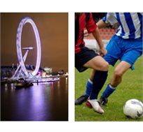 קריסטל פאלאס-טוטנהאם! כרטיס למשחק הכדורגל כולל טיסות אל-על ללונדון ו-3 לילות במלון רק בכ-£669* לאדם!