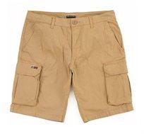 מכנסי ברמודה קצרים ואלגנטיים Napapijri לגברים בצבע חום
