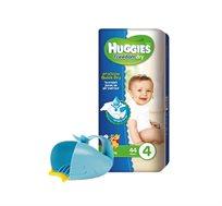 מארז 5 חבילות Huggies Freedom Dry ומשפך לוויתן לאמבטיה SKIP HOP