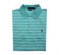 חולצת פולו Polo Ralph Lauren לגבר בגזרת Classic Fit בצבע ירוק בהיר