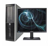 """מחשב נייח HP  עם מעבד I5 זיכרון  16GB דיסק 240SSD GB + 500GB מ.WIN 10 ו3 שנות אחריות +מסך """"19 מתנה"""