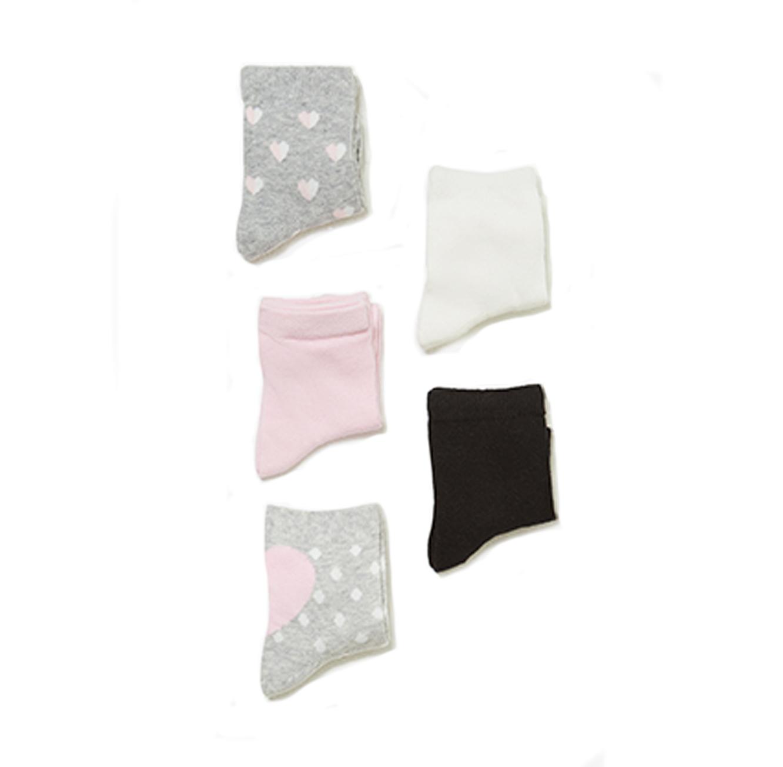 מארז 5 זוגות גרביים OVS לילדות - מגוון צבעים