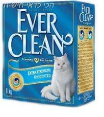סופרחול לחתול מתגבש אברקלין תכלת 6 ליטר Ever Clean