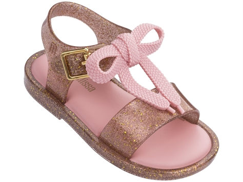 Melissa ילדות // Mar Sandal Glitter Gold